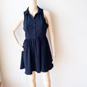 One Clothing Collared Front Button Shirt Dress